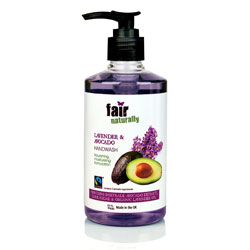 Lavender and avocado handwash - Fairtrade certified fair naturally product