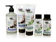 Fairtrade Cotton Hand and skin care range